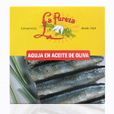 Garfish in olive oil