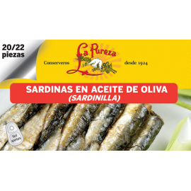 Little sardines in olive oil 12-14
