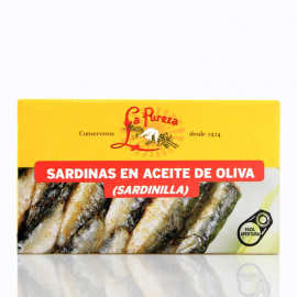 Sardinillas en aceite de oliva 12-14 piezas