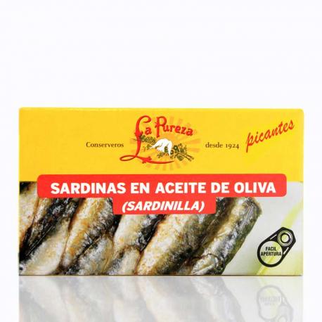 Sardinilla picante en aceite de oliva
